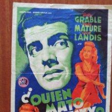 Cine: QUIEN MATO A VICKY (CON PUBLICIDAD). Lote 268859014