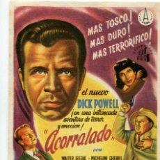 Cine: ACORRALADO, CON DICK POWELL.. Lote 269007924