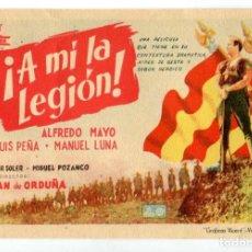 Cine: A MÍ LA LEGIÓN. CON ALFREDO MAYO.. Lote 269008634