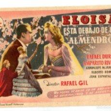 Cine: ELOISA ESTÁ DEBAJO DE UN ALMENDRO, CON AMPARITO RIVELLES.. Lote 269009449