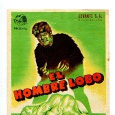 Cine: EL HOMBRE LOBO, CON BELA LUGOSI.. Lote 269098498