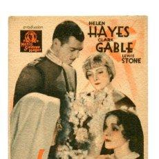 Cine: LA HERMANA BLANCA, CON CLARK GABLE.. Lote 269170023