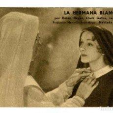 Cine: LA HERMANA BLANCA, CON CLARK GABLE.. Lote 269171348