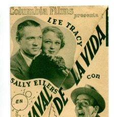Cine: CARNAVAL DE LA VIDA, CON JIMMY DURANTE.. Lote 269174618