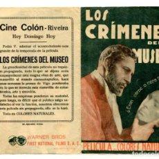 Cine: LOS CRÍMENES DEL MUSEO, CON FAY WRAY.. Lote 269175698