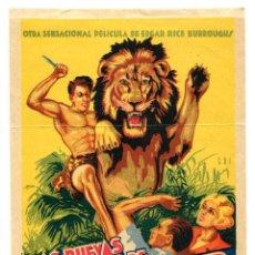 Cine: LAS NUEVAS AVENTURAS DE TARZÁN, CON HERNAN BRIX.. Lote 269321603