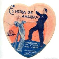 Cine: ES HORA DE AMARNOS, CON EDMUND LOWE.. Lote 269395338