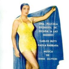 Cine: SOLO PARA HOMBRES, CON PAOLA BÁRBARA,. Lote 269395868