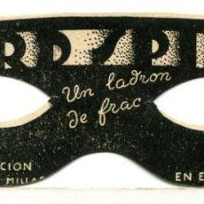 Cine: LORD SPIDER, UN LADRÓN DE FRAC. Lote 269397783