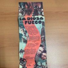 """Cine: FOLLETO DE CINE ANTIGUO """"LA DIOSA DE FUEGO """"1934.RADIO FILMS.. Lote 269399078"""