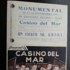 Cine: CASINO DEL MAR, CARY GRANT, PARAMOUNT AÑOS 30. Lote 269441818