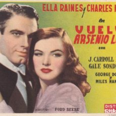 Cine: VUELVE ARSENIO LUPIN .- ELLA RAINES. Lote 269643663