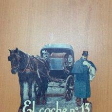 """Cine: FOLLETO DE CINE ANTIGUO """"EL COCHE NO.13"""".TROQUELADO . SIN FECHA DEFINIDA.. Lote 269692618"""