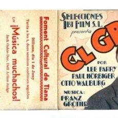 Cine: EL GRAN BLUF, CON LEE PARRY.. Lote 269746618