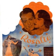 Cine: ROSALIE, CON NELSON EDDY.. Lote 269752198