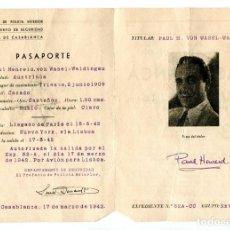 Cine: CASABLANCA, CON PAUL HENREID.. Lote 269753293