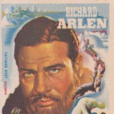 Cine: PROGRAMA DE CINE – MOTIN EN EL ARTICO – RICHARD ARLEN – S/P. Lote 269971538