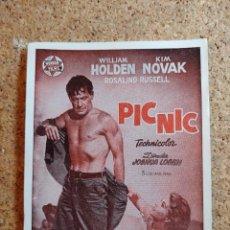 Folhetos de mão de filmes antigos de cinema: FOLLETO DE MANO DE LA PELÍCULA PIC NIC. Lote 270108533