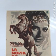 Cine: LA NOVIA DE JUAN LUCERO. Lote 270149538