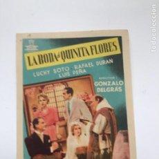 Cine: LA BODA DE QUINITA FLORES. Lote 270150063