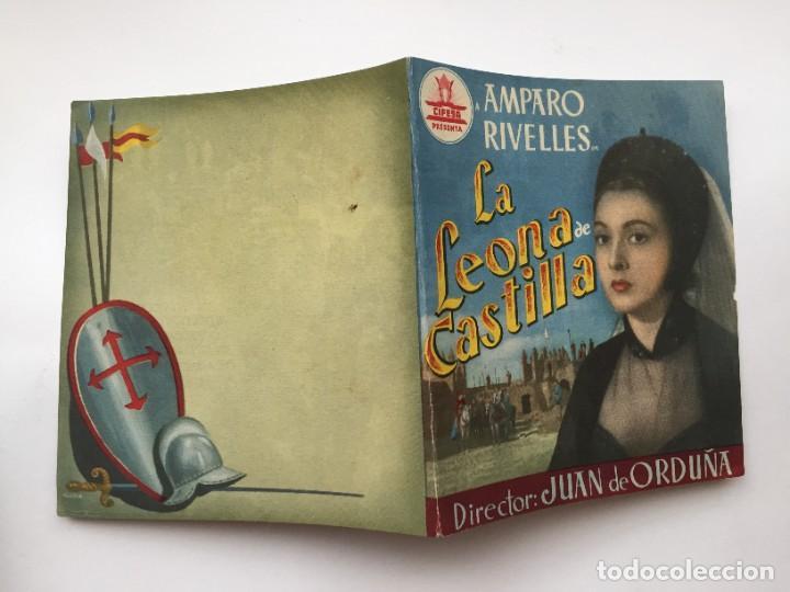 LA LEONA DE CASTILLA (Cine - Folletos de Mano - Clásico Español)