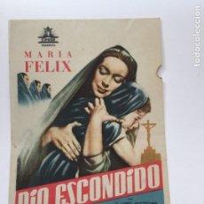Cine: RIO ESCONDIDO. Lote 270151593