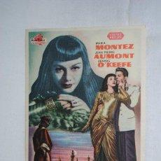 Cine: LA ATLANTIDA , CINE ANDALUCIA 1949 CADIZ. Lote 270166423