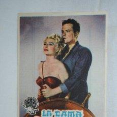 Cine: LA DAMA SE SHANGAI , CINE ANDALUCIA , CADIZ 1949. Lote 270167098