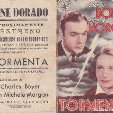 Cine: TORMENTA .- CHARLES BOYER. Lote 270168663