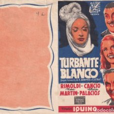 Cine: TURBANTE BLANCO .- RIMOLDI. Lote 270169498