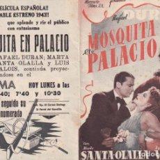 Cine: MOSQUITA EN PALACIO .- RAFAEL DURAN. Lote 270175578