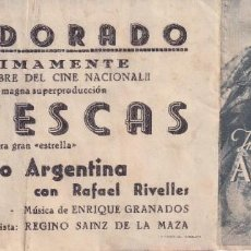 Cine: GOYESCAS .- IMPERIO ARGENTINA. Lote 270175708