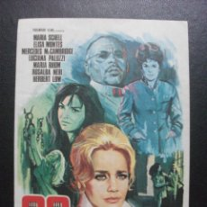 Cine: 99 MUJERES, MARIA SCHELL. Lote 270194643