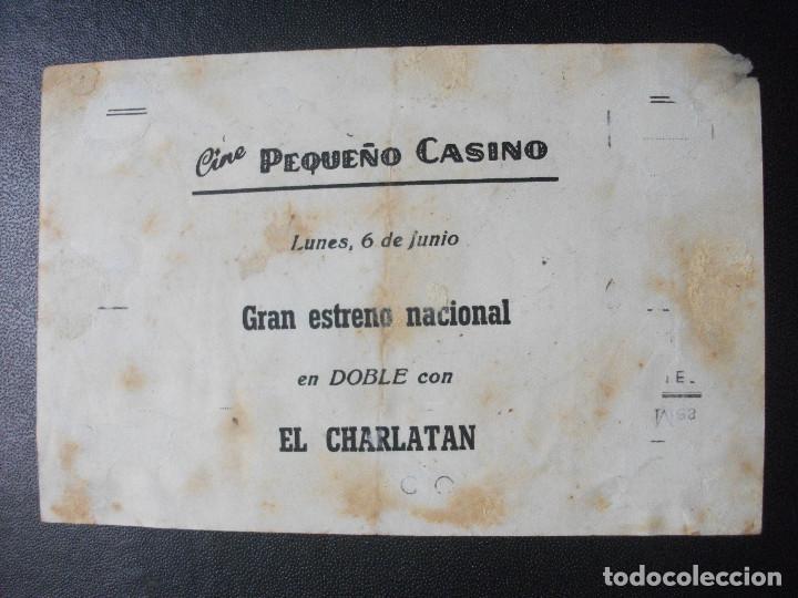 Cine: VIDAS CONFUSAS, SARA MONTIEL, CINE PEQUEÑO CASINO, SAN SEBASTIAN - Foto 2 - 270195048