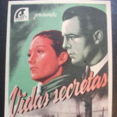 Cine: VIDAS SECRETAS, BRIGITTE HORNEY. Lote 270195373