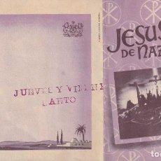 Cine: JESUS DE NAZARETH .- JOSE CEBRIAN. Lote 270210238