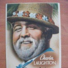 Cine: SE ACABÓ LA GASOLINA, CHARLES LAUGHTON. Lote 270518238