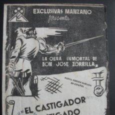 Cine: EL CASTIGADOR CASTIGADO (DON JUAN TENORIO). Lote 271027748
