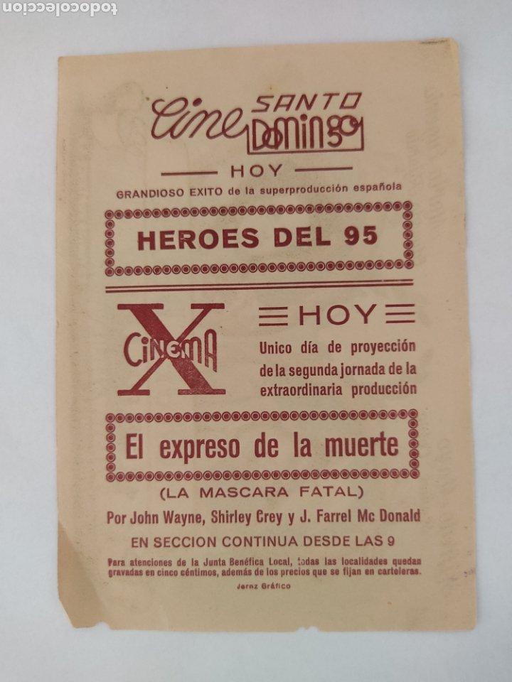 Cine: Heroes del 95 Alfredo Mayo Maria Eugenia cine Santo Domingo Jerez - Foto 2 - 271803128