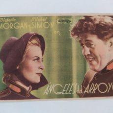 Cine: ANGELES DEL ARROYO MICHELLE MORGAN MICHEL SIMON CINE SANTO DOMINGO JEREZ. Lote 271803698