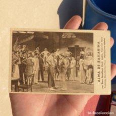 Cine: ANTIGUO FOLLETO DE CINE , ALMA DE BAILARINA , CINE LA PAZ , SUECA 1935. Lote 273013253