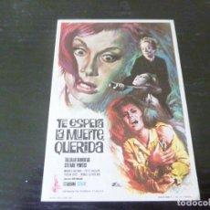 Folhetos de mão de filmes antigos de cinema: PROGRAMA DE CINE IMPRESO EN LA PARTE TRASERA. Lote 273332638