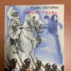"""Folhetos de mão de filmes antigos de cinema: FOLLETO DE CINE ANTIGUO """"ABISINIA"""" FILMS VICTORIA.PROGRAMA DOBLE.. Lote 273946858"""