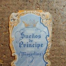Flyers Publicitaires de films Anciens: FOLLETO DE MANO DOBLE TROQUELADO DE LA PELÍCULA SUEÑOS DE PRINCIPE. Lote 274325518