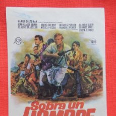 Cine: SOBRA UN HOMBRE, SENCILLO ORIGINAL, EXCTE. ESTADO, HARRY SALTZMAN, SIN PUBLICIDAD. Lote 274902973