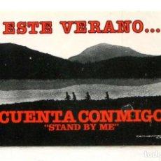 Foglietti di film di film antichi di cinema: CUENTA CONMIGO. ADESIVO.. Lote 274932523