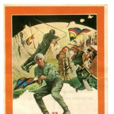 Folhetos de mão de filmes antigos de cinema: EL ASALTO DE LOS HOMBRES PÁJARO, CON JAMES COBURN.. Lote 275098763