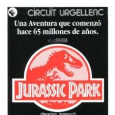 Cine: JURASSIC PARK, CON LAURA DERN.. Lote 275453303