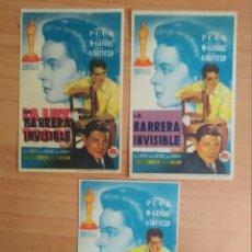 Folhetos de mão de filmes antigos de cinema: Z-PROGRAMA DE CINE-- LA LUZ ES PARA TODOS. Lote 275900188