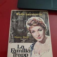Cine: FOLLETO DE MANO LA FAMILIA TRAPP EN AMERICA , RUTH LEUWERIK. Lote 276182788